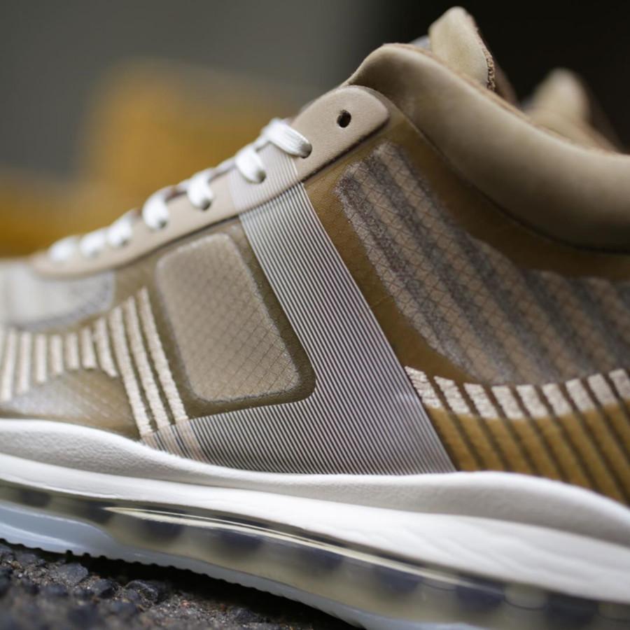 Nike Lebron James X John Elliott dorée et marron clair AQ0114-200 (6)