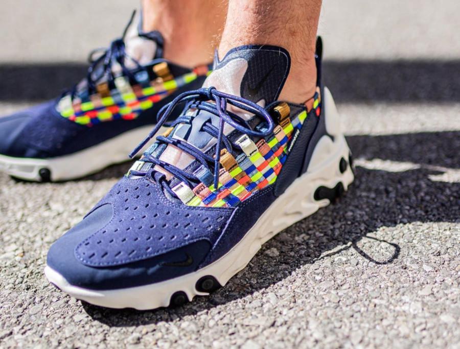 Faut-il acheter la Nike React Sertu Blackened Blue Multicolor Woven ?