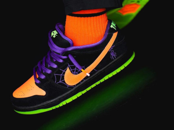 Nike SB Dunk Low Pro QS Halloween Night Of Mischief (couv)