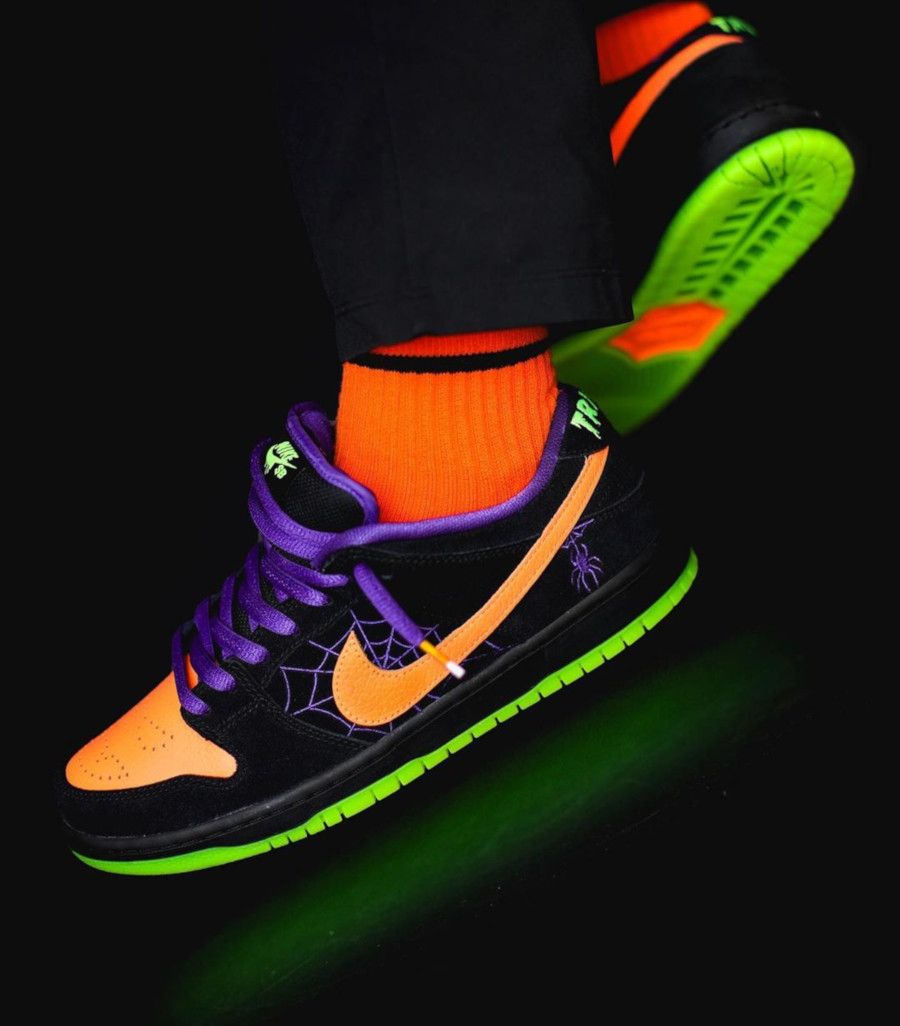 Nike SB Dunk Low Pro QS Halloween Night Of Mischief