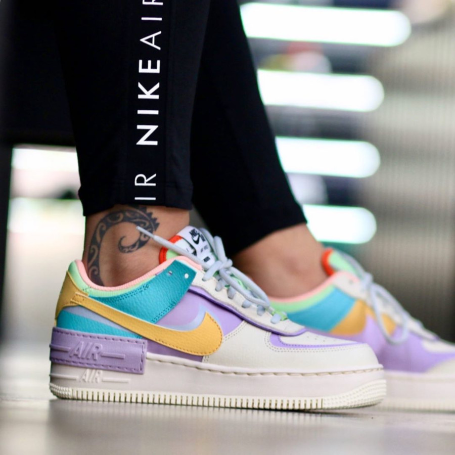 Faut Il Acheter La Nike W Air Force 1 Af1 Shadow Easter Pastel