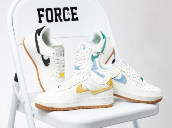 Nike Wmns Air Force 1 '07 LXX Inside Out Sail Gum (1)