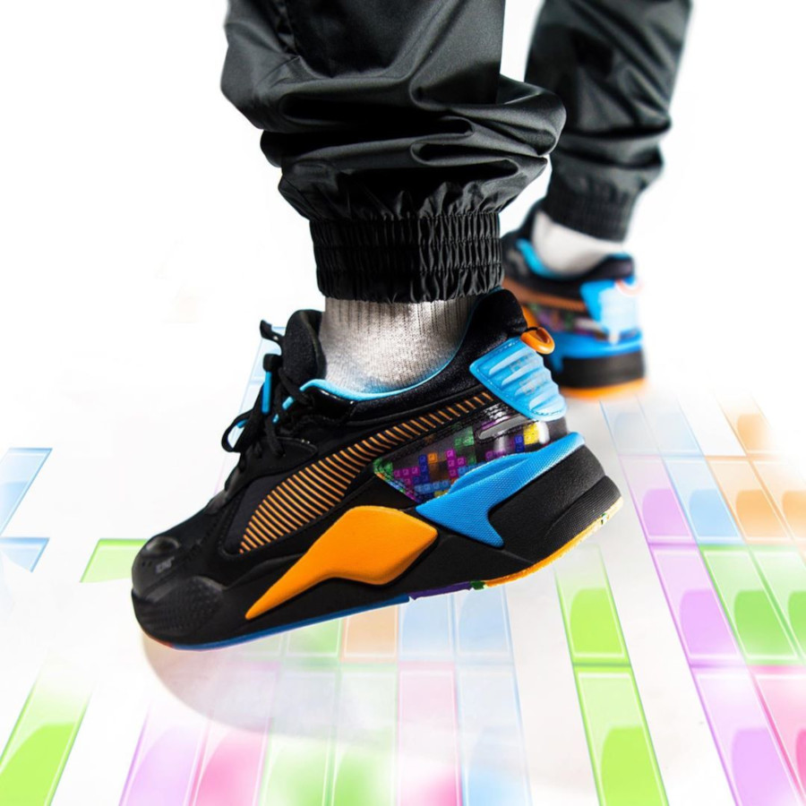 Puma RS-X Tetris Puzzle Black Luminous Blue