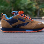 Reebok Classic Leather Ripple Trail 'Wild Brown Collegiate Navy Cyan'