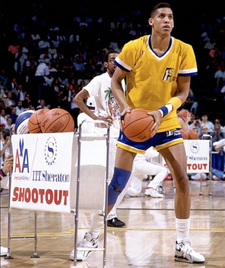 Reggie Miller en Nike Air Flight 89