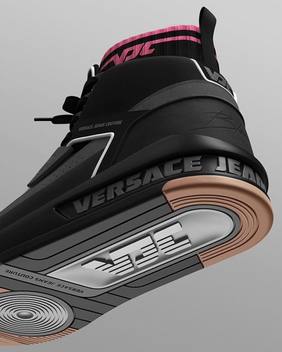 basket montante vjc noire grise et rose (3)