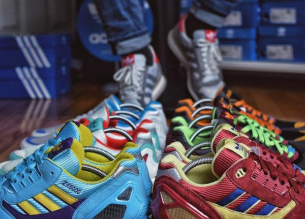 l'histoire de la Adidas ZX