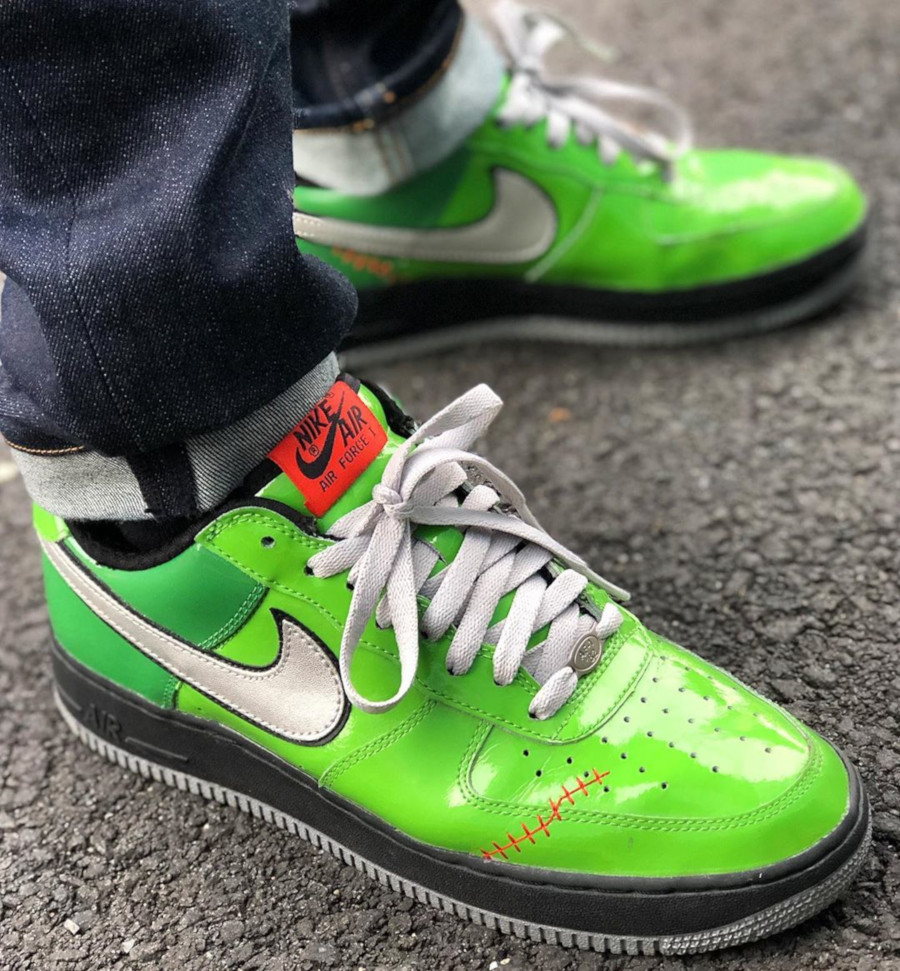 2006 - Nike Air Force 1 Frankenstein - @trik_irecuam