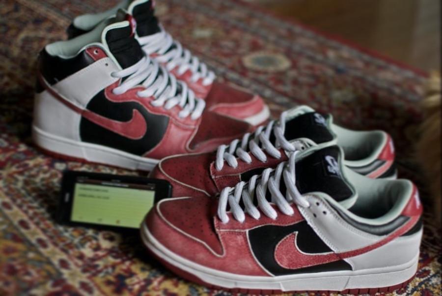2006 et 2007 - Nike Dunk SB High Jason Voorhees - @ohhaimang