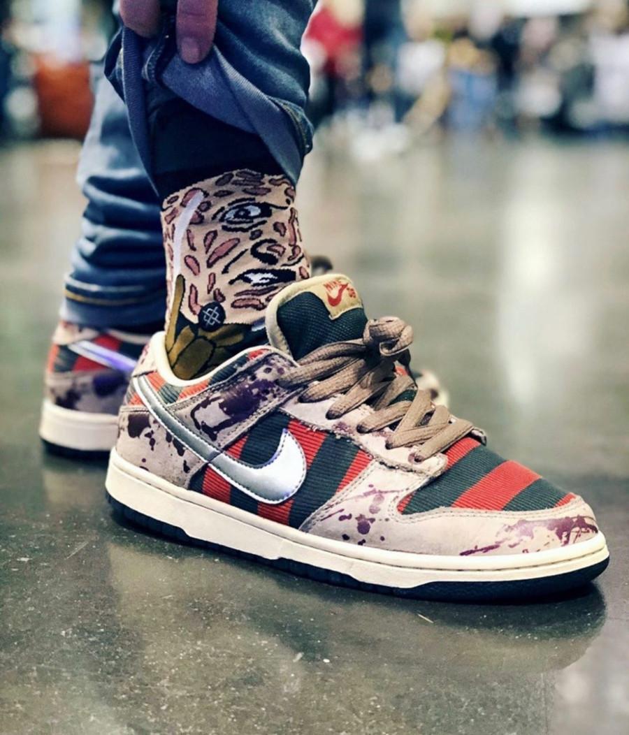 2007 - Nike SB Dunk Low Pro SB Freddy Kruegger - @sneakerboy79