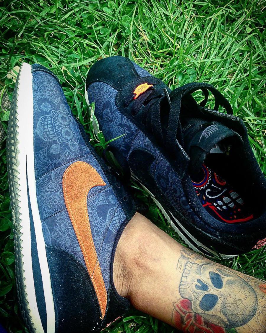 2015 - Nike Cortez Dia de los Muertos - @gatoyakuza