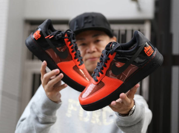 2019 - Nike Air Force 1 Shibuya Halloween - @yusuke_airforce1 (couv)