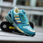 Adidas ZX 8000 OG 'Light Aqua' Rétro 2019 (30 Years of Torsion)