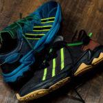 Pusha T x Adidas Ozweego Core Black & Tech Mineral