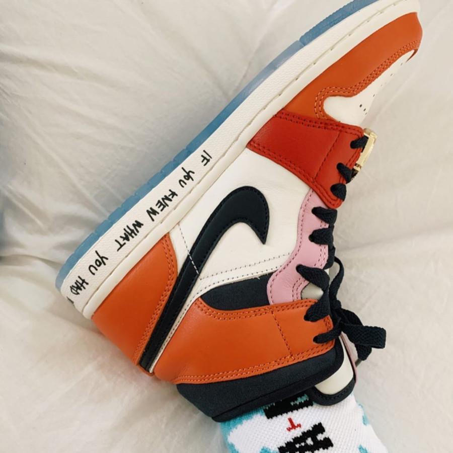 Air Jordan 1 Mid ME multicolore (3)