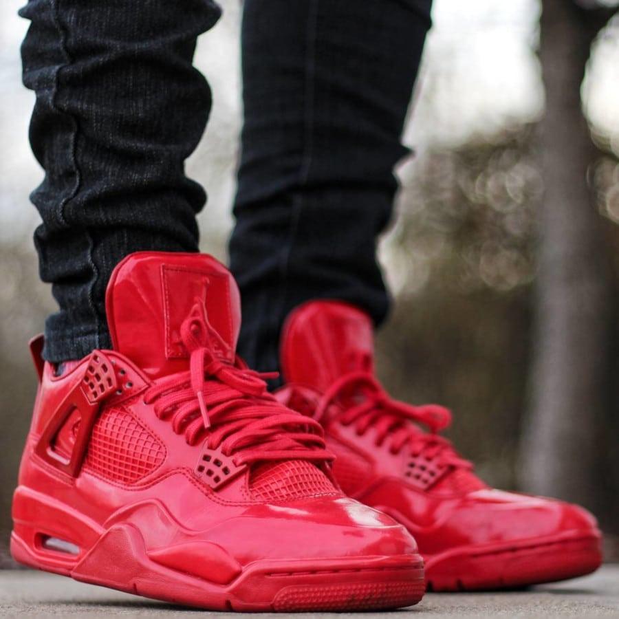 Air Jordan 11Lab4 Red - @espbj