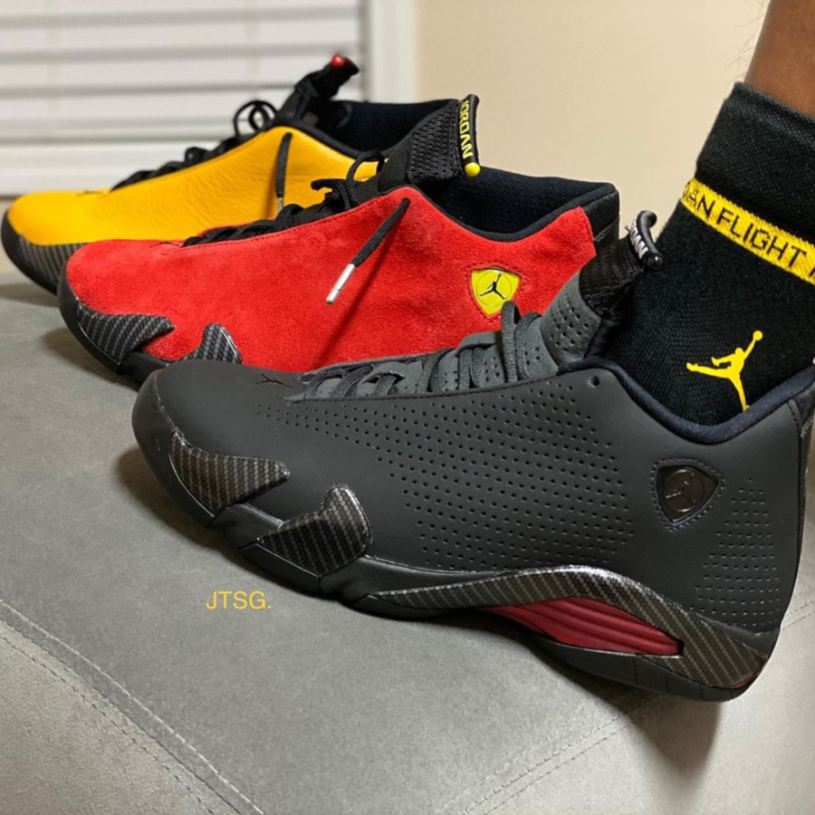 Air Jordan 14 Retro SE Black Ferrari BQ3685-001