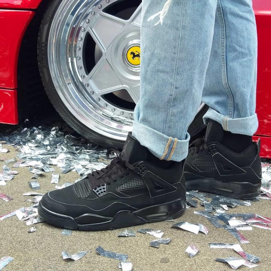 Air Jordan 4 Retro Black Cat - @rafsurfer