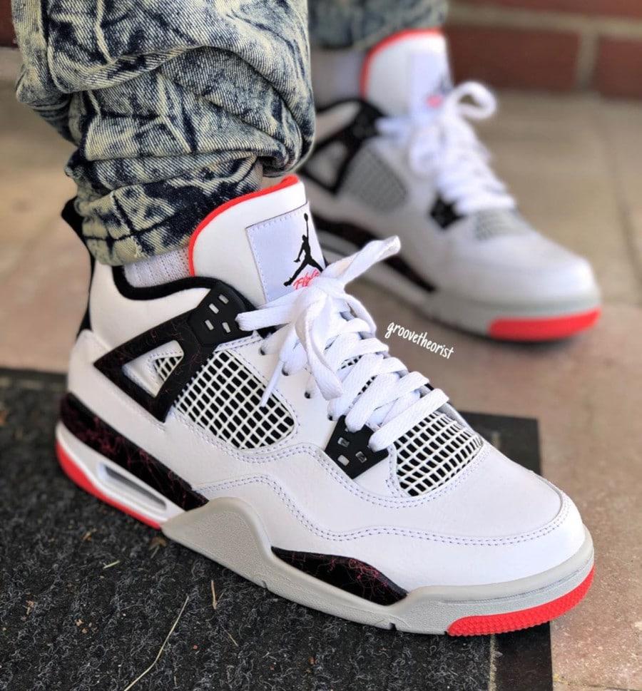Air Jordan 4 Retro Bright Crimson - @groovetheorist