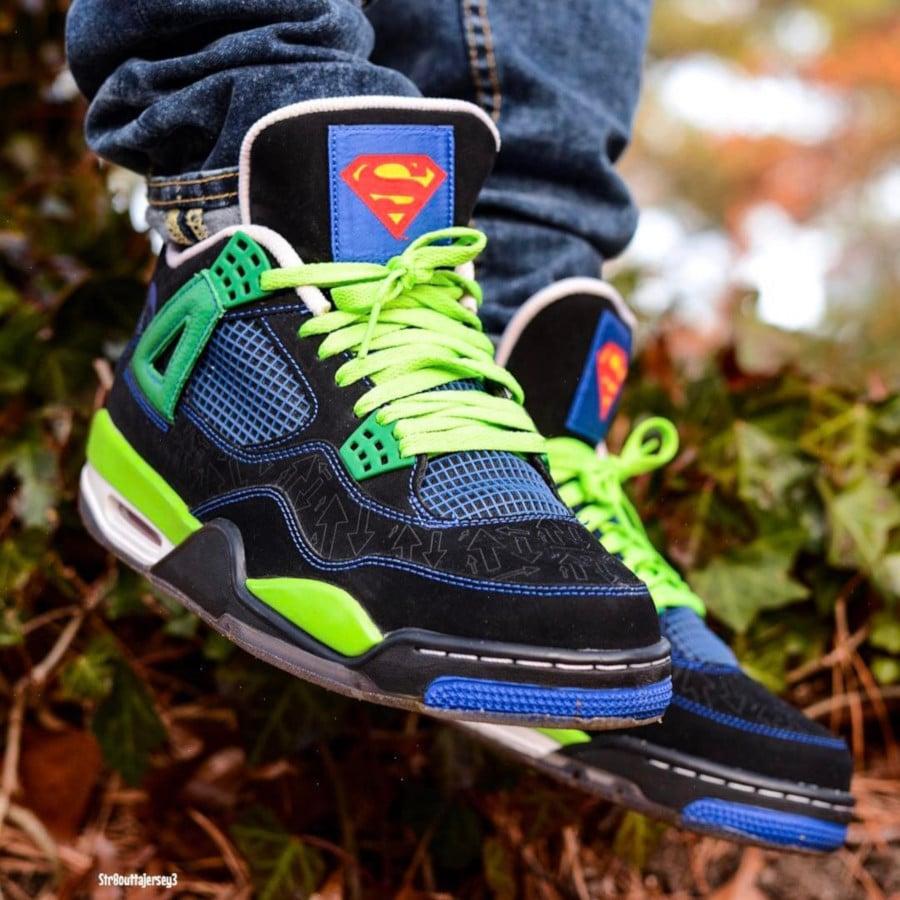 Air Jordan 4 Retro Doernbecher Superman - @str8outtajersey3