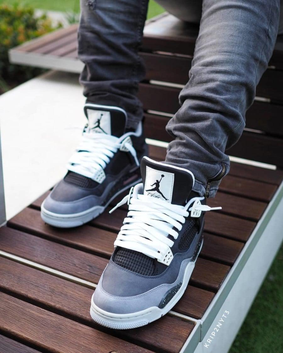 Air Jordan 4 Retro Fear - @krip2nyt3