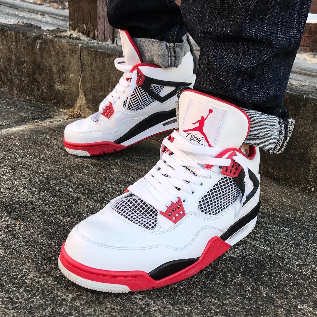 Air Jordan 4 Retro Fire Red - @not_a_trapdoor