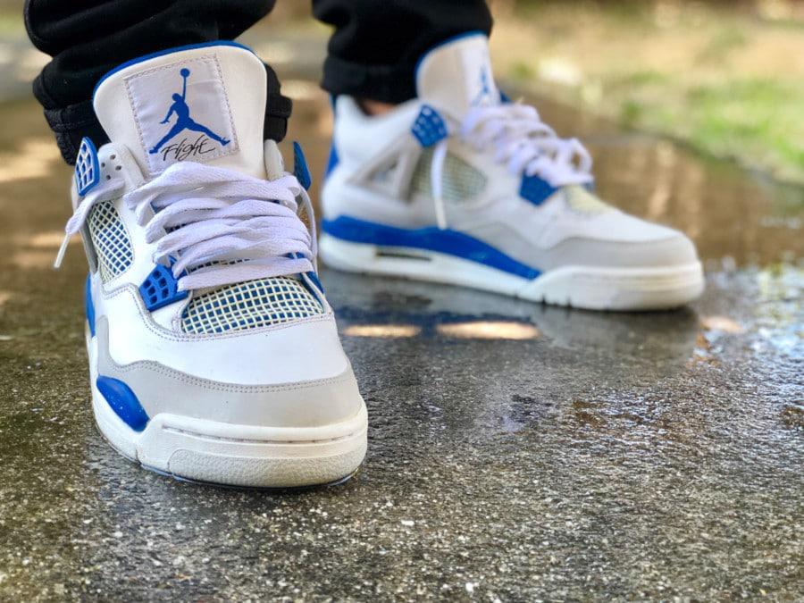 Air Jordan 4 Retro Military Blue - @thatboyyhighdoe