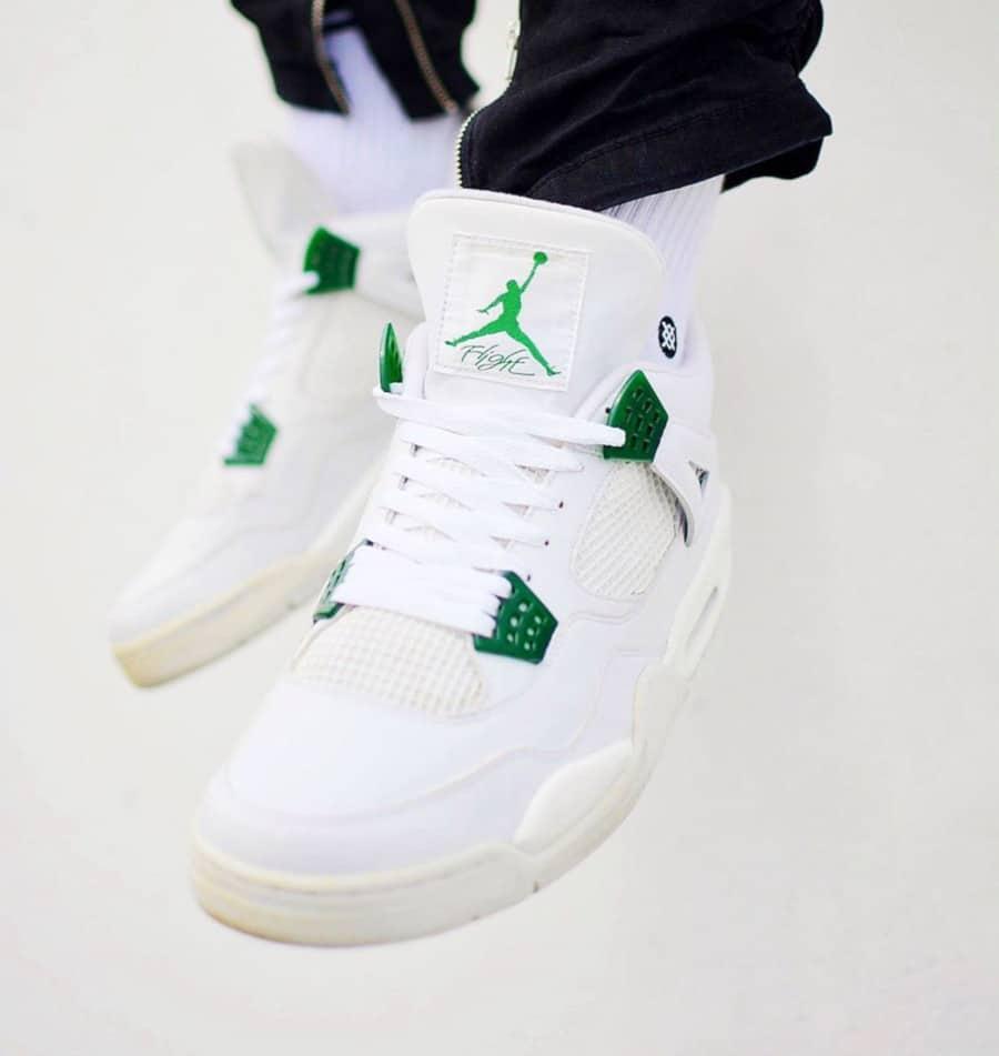 Air Jordan 4 Retro Pine Green - @nineteen.85