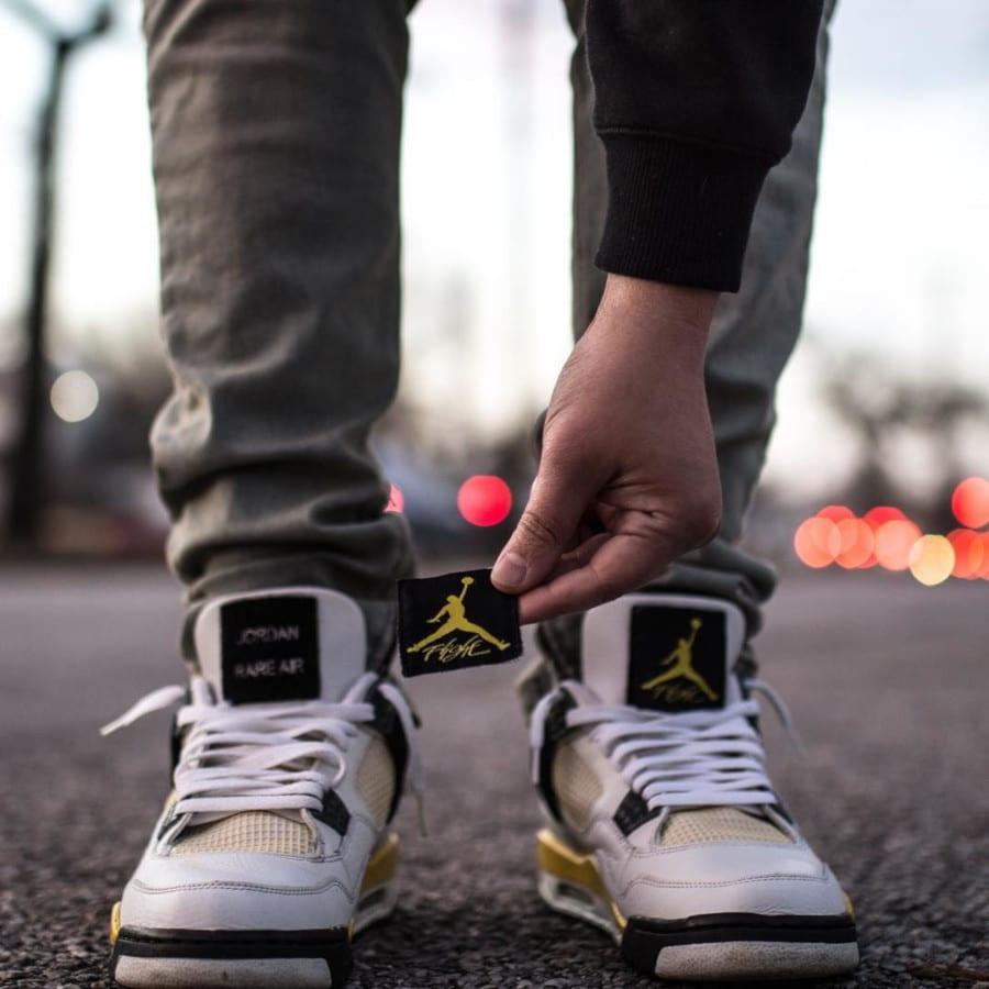 Air Jordan 4 Retro Tour Yellow Rare Air - @blu3print_