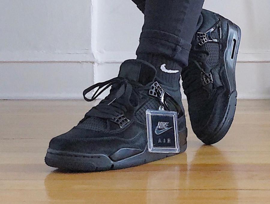 Que Vaut La Air Jordan 4 Retro W Olivia Kim Black Cat