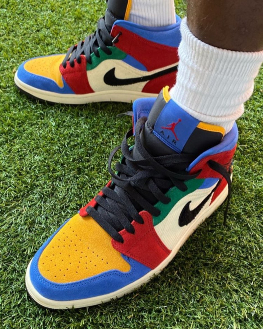 Blue The Great x Air Jordan 1 Mid SE 'Fearless Ones' (2)