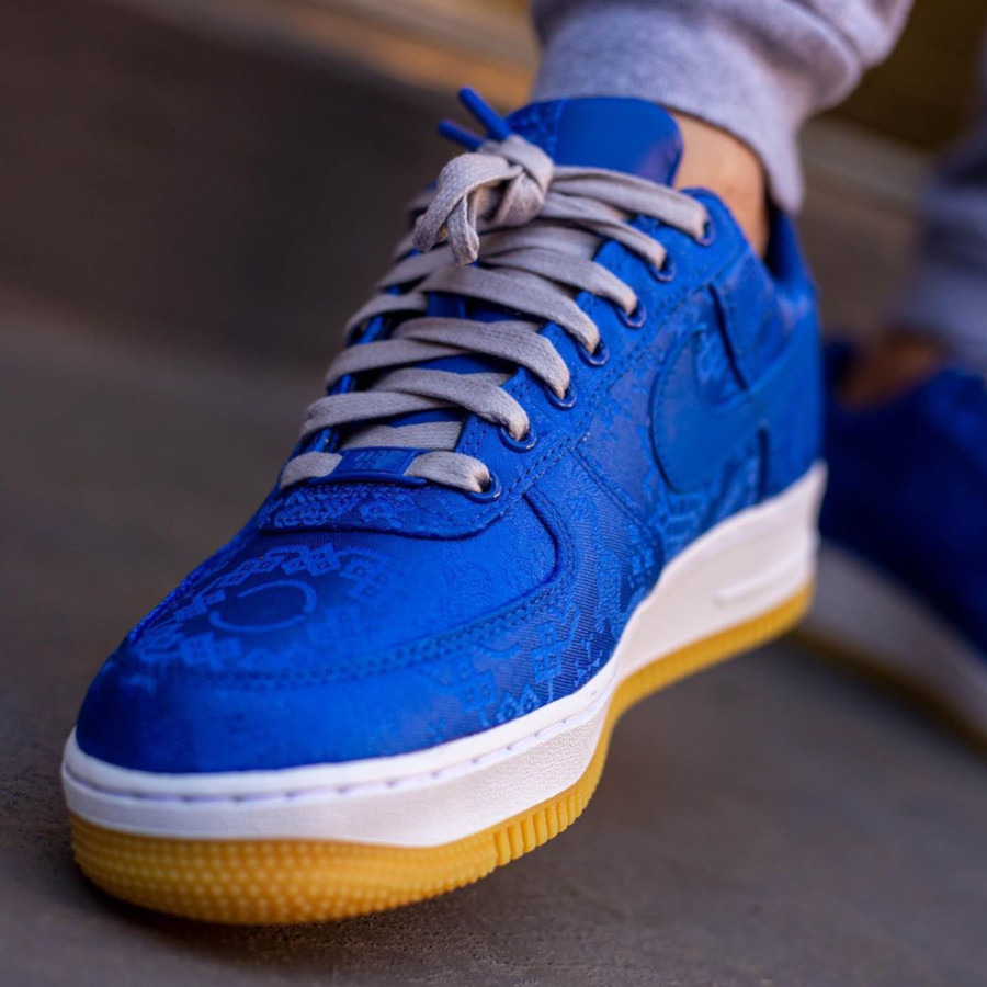 Clot x Nike Air Force 1 'Royale University Blue Silk' (1)