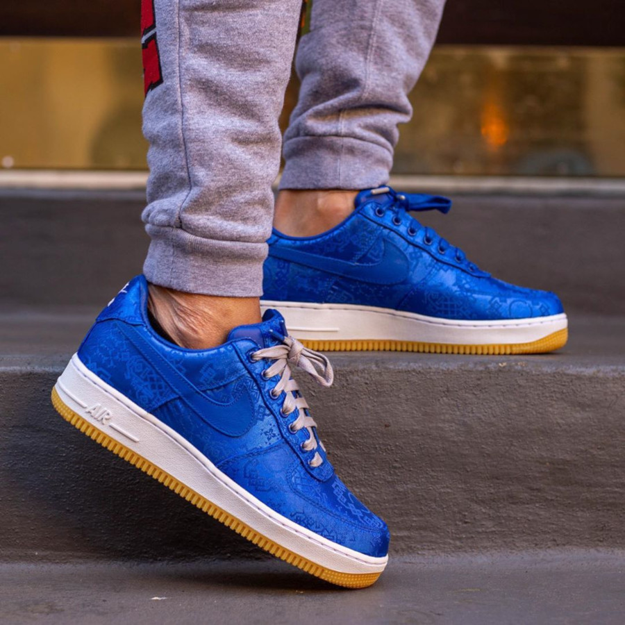 Clot x Nike Air Force 1 'Royale University Blue Silk' (2)