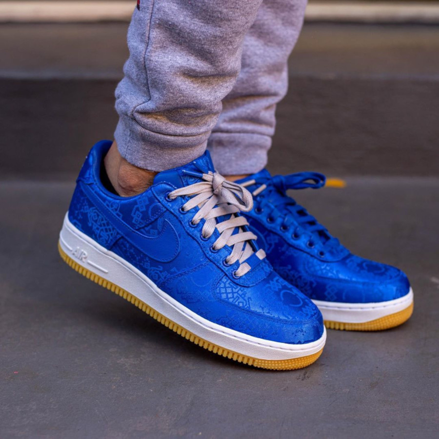 Clot x Nike Air Force 1 'Royale University Blue Silk' (3)