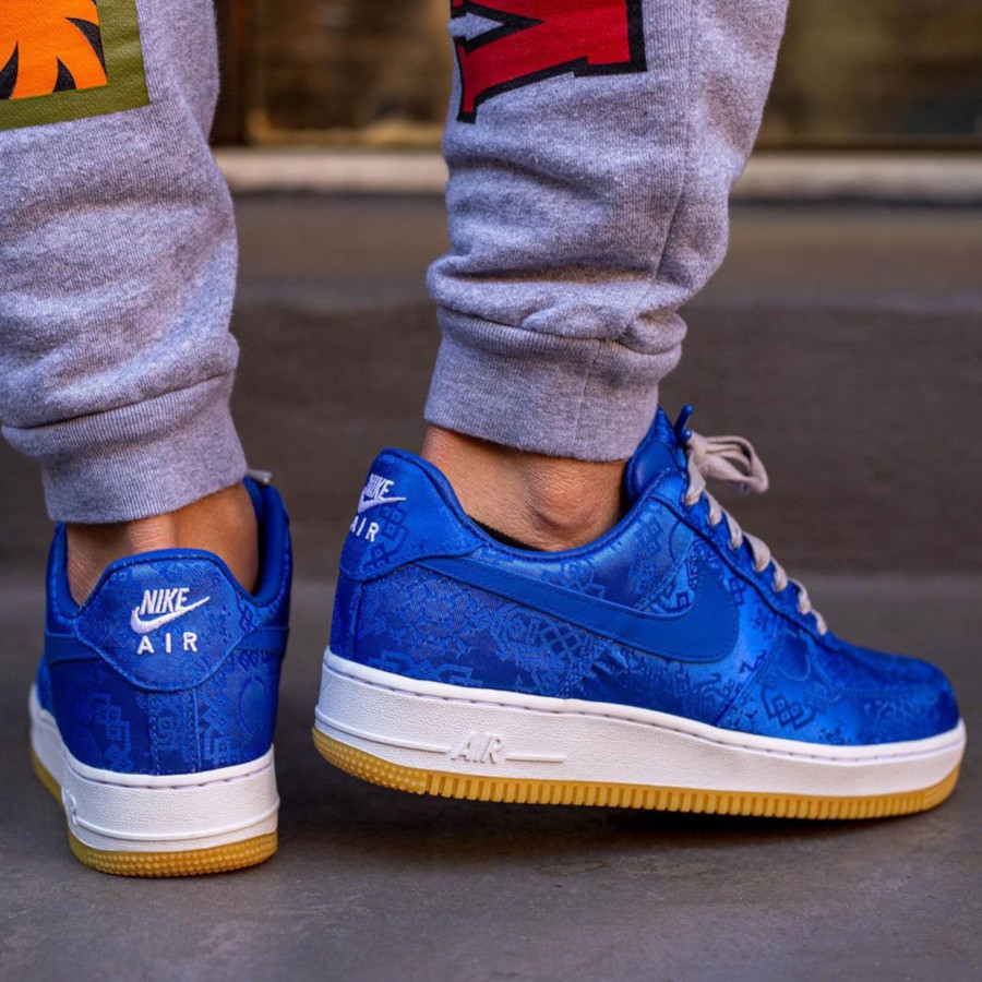 Clot x Nike Air Force 1 'Royale University Blue Silk' (4)