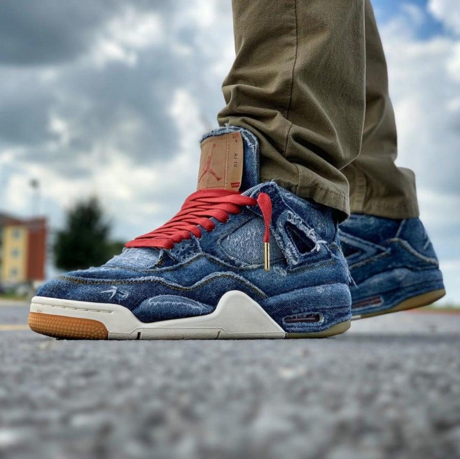Levis x Air Jordan 4 Retro - @baktrak15