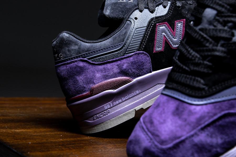 New Balance M 997 en suède violet noir et gris (3)