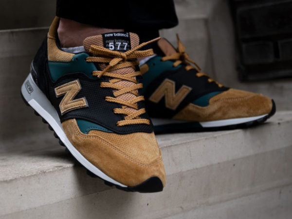 New Balance M577TGK Tan Grey Black (made in England)