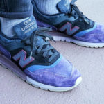 New Balance 997 Purple Black Grey (made in USA)