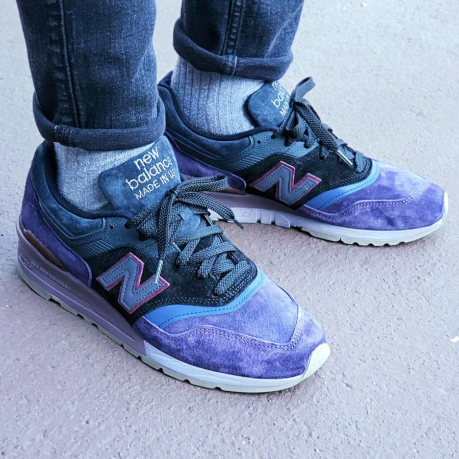 New Balance M997NAK Purple Black Grey 767931-60-8