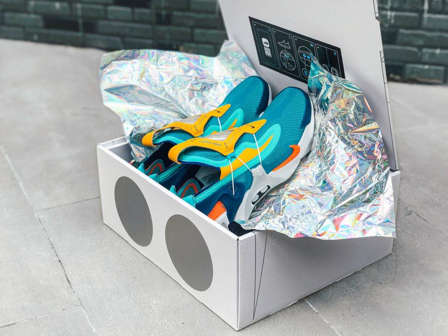 Nike Adapt Huarache autolaçante Hyper Jade CT4092-300