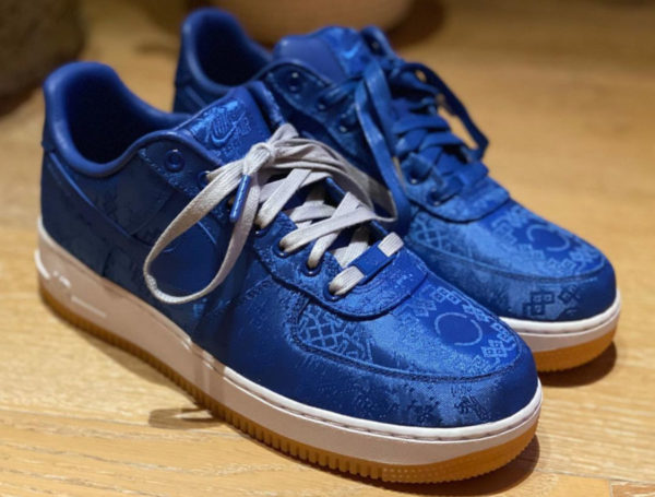 Nike Air Force 1 Clot 1World 'Blue Silk' CJ5290-400