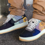 Travis Scott x Nike Air Force 1 Low Patchwork Zipper