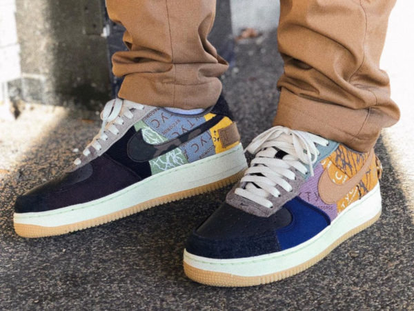 Nike Air Force 1 Low Patchwork Zipper (1)