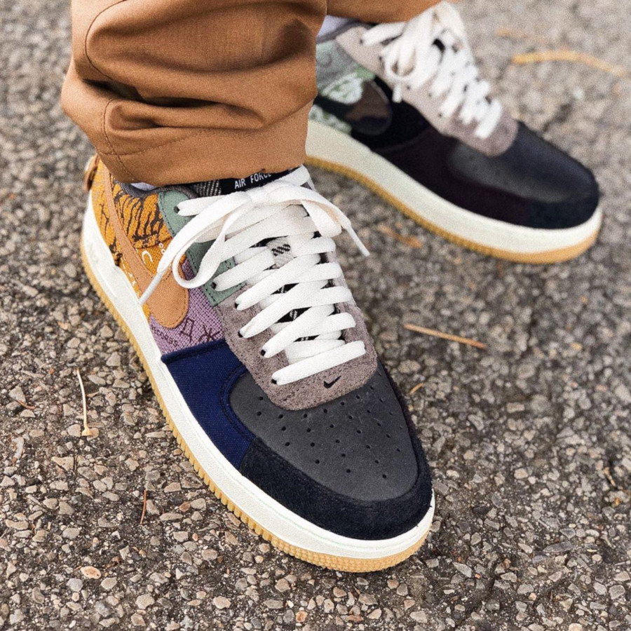 Nike Air Force 1 Low Patchwork Zipper (2)