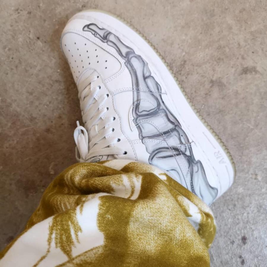 Nike Air Force 1 White Skeleton - @jagyour