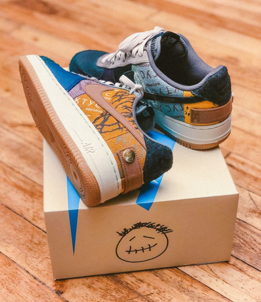 Nike Air Force One Multi-Color Muted Bronze-Fossil (2)