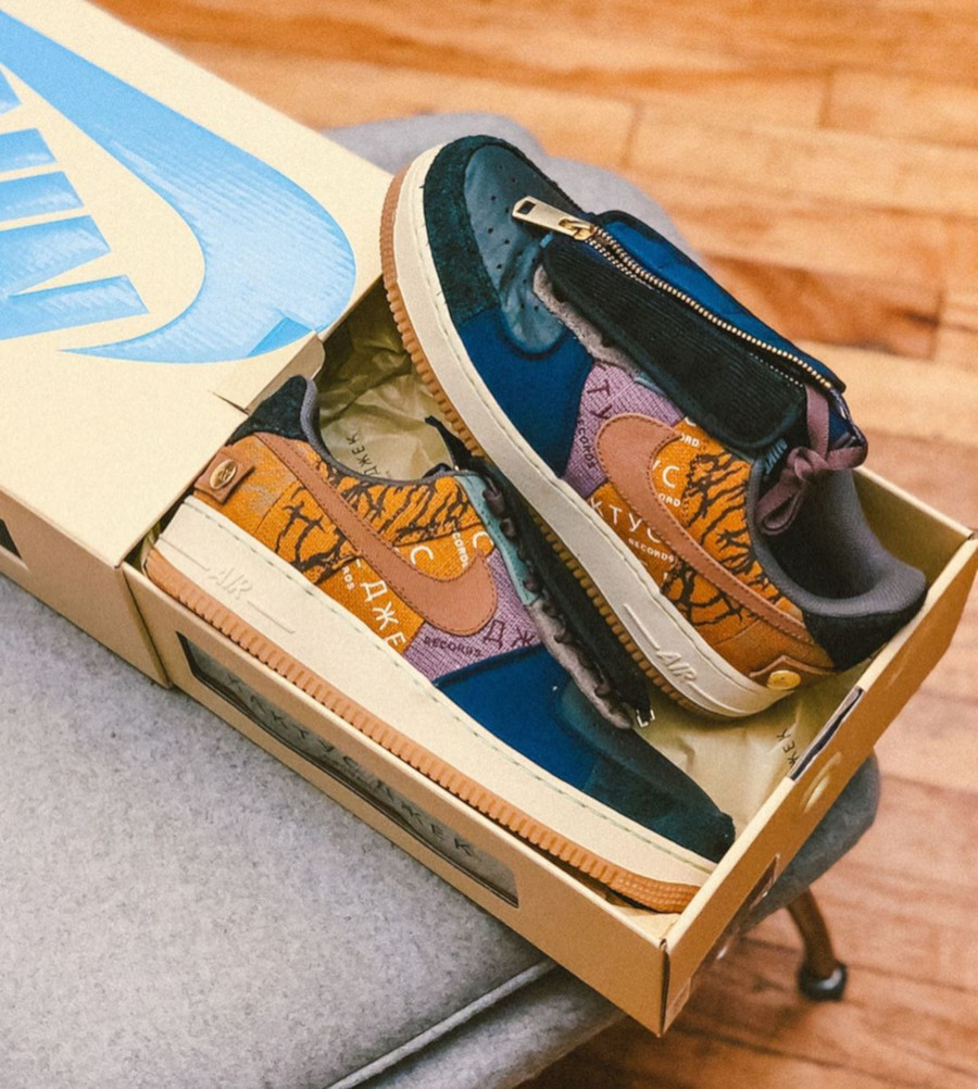 Nike Air Force One Multi-Color Muted Bronze-Fossil (3)