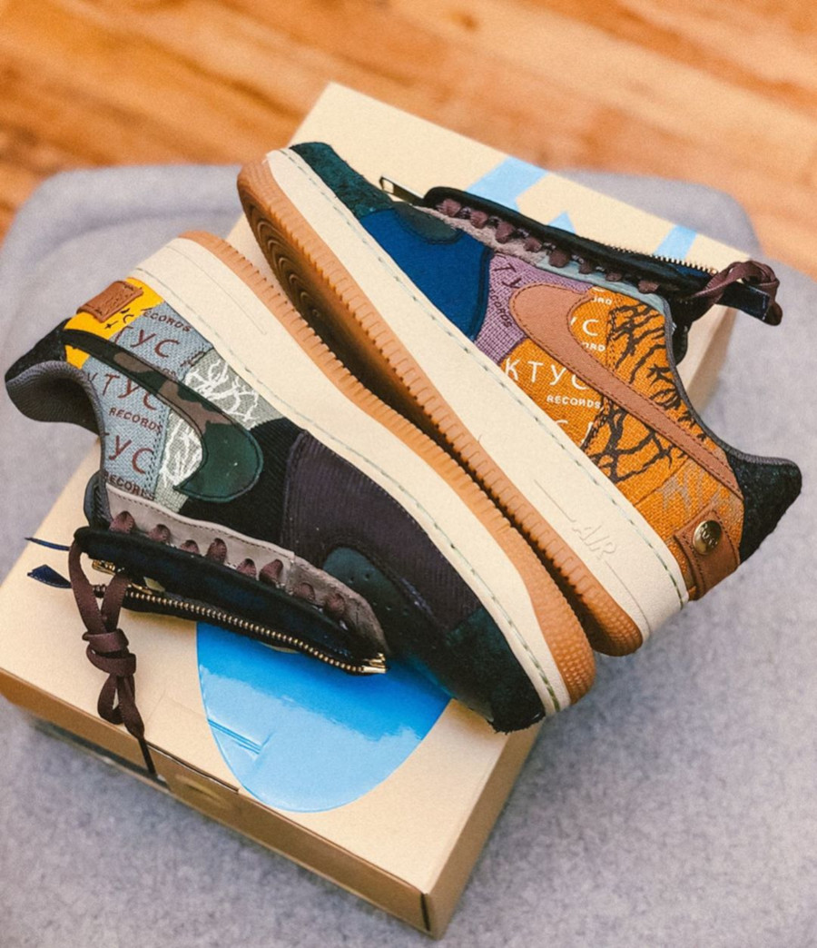 Nike Air Force One Multi-Color Muted Bronze-Fossil (7)