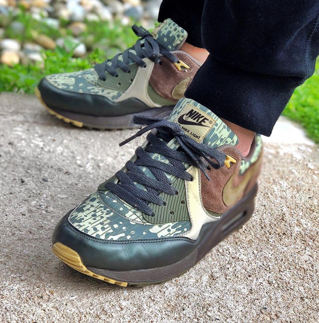 Nike Air Max Light Forest Funk Camo - @eyesaac_campos